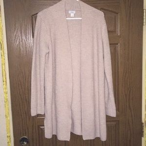 COZY OLD NAVY WAFFLE KNIT CARDIGAN